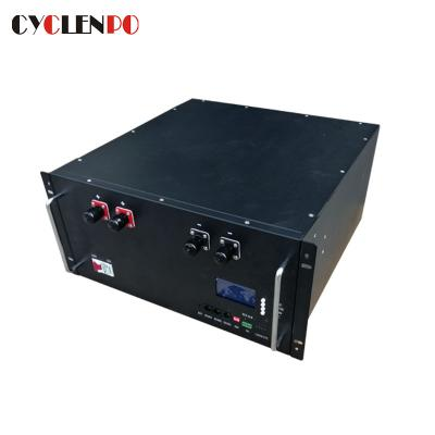 Deep Cycle 48V 100Ah Lithium Ion Battery For Telecom Data Center Backup