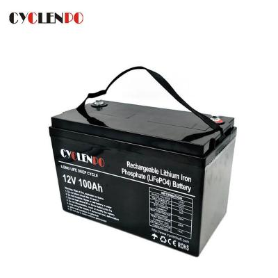 Factory Price 12 Volt 100Ah Lithium Battery For Leisure Vehicles