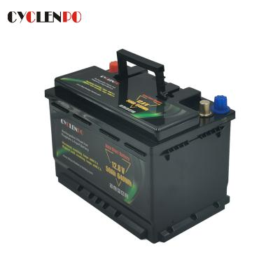 Manufacturer Supply LiFePO4 Start Battery 12V 50Ah