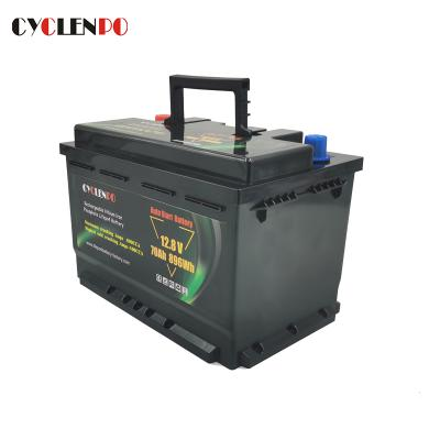 Auto Start LiFePO4 Lithium Ion 12V 70Ah Battery Pack
